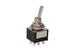 Toggle Switch ON-OFF-ON Ø6mm MTS-203